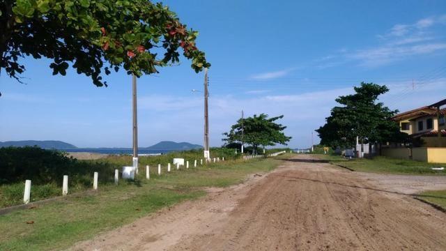 Terreno Frente pro mar em Itapoá para construir,menor preço na beira mar de toda Itapoá