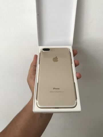 IPhone 7 Plus Aparelho de Vitrine 128gb Rosé e Dourado com Garantia e Procedência - Foto 2