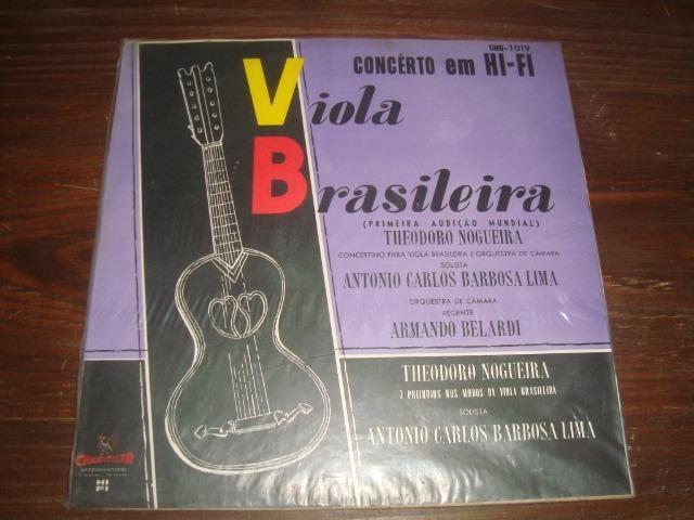 Theodoro Nogueira, Viola Brasileira, Lp vinil excelente conservação