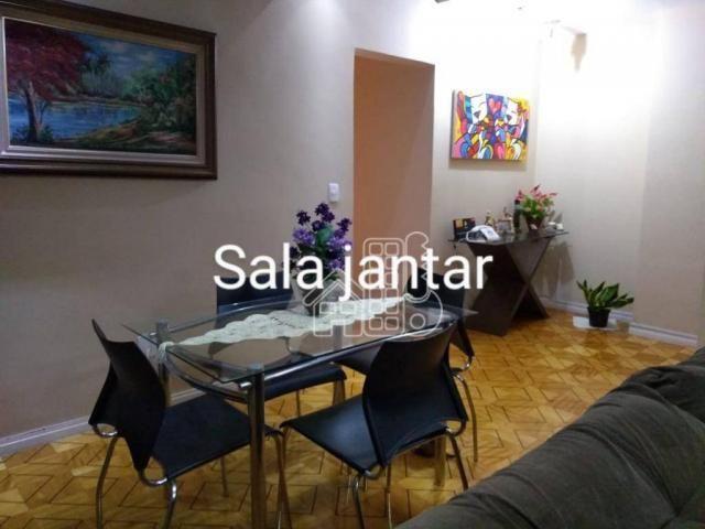 Apartamento com 3 dormitórios à venda, 100 m² por R$ 890.000,00 - Icaraí - Niterói/RJ - Foto 3