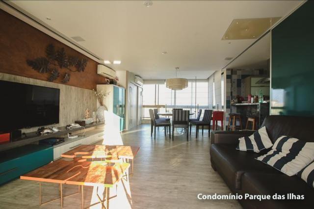 Vendo linda cobertura duplex no parque das ilhas(Porto das Dunas) 164m, toda projetada, po - Foto 9