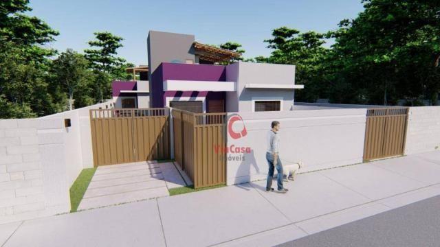 Lindas casas com 2 quartos sendo 1 auíte com terraço gourmet perto da pista !!! - Foto 14