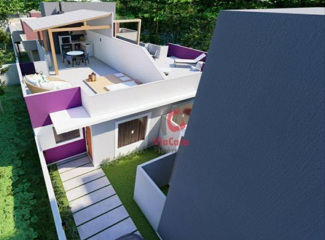 Lindas casas com 2 quartos sendo 1 auíte com terraço gourmet perto da pista !!! - Foto 6