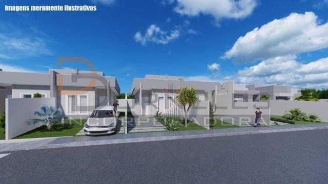 Casa recém construída no Jd. Cataratas com 2 quartos, amplo quintal - apta para financiame - Foto 5