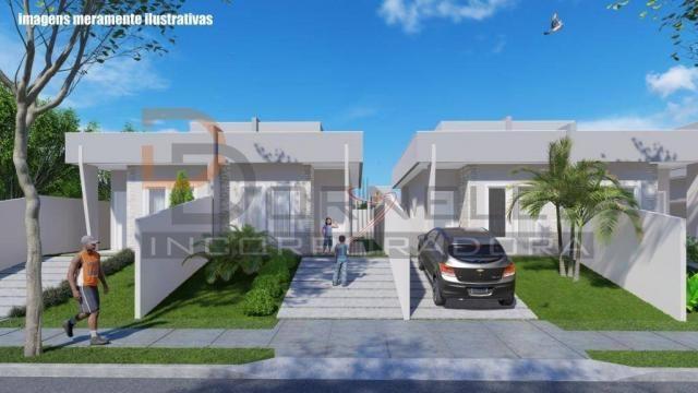 Casa recém construída no Jd. Cataratas com 2 quartos, amplo quintal - apta para financiame - Foto 11