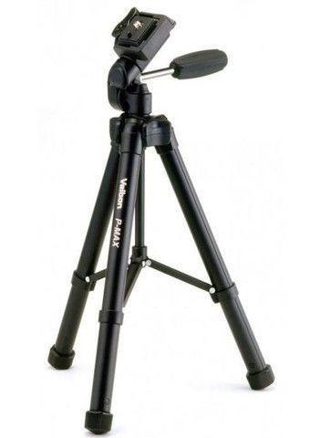 Tripé Profissional Velbon P-Max - 131cm - Para 2,5kg