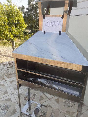Churrasqueira de inox para churrasquinho - Foto 2