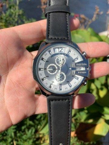 Relógios Diesel Couro (Novos Anápolis) - Foto 4