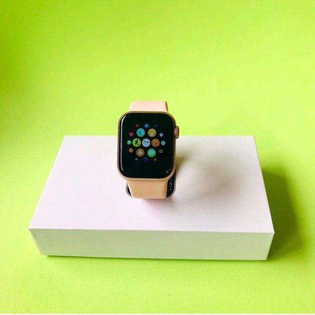 Smart watch na caixa rosé - Foto 3
