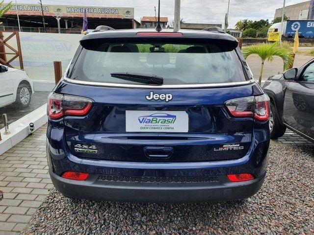 Jeep Compass Limited Diesel 4x4 AT9 (2021) Com Teto e Anenas 9.000 Kms - Foto 5