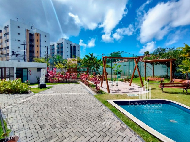 JS- Lindo apartamento de 03 quartos no Barro - José Rufino - Edf. Alameda Park - Foto 17