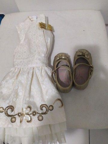 Vestido lindo 1 ano - Foto 5