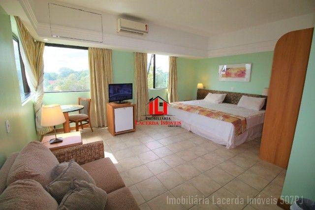 Flat Mobiliado com Vista p Rio no Tropical Hotel 6 Andar - Foto 8
