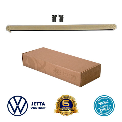 Cortina toldo persiana do teto solar VW Jetta Variant instalada - Foto 2