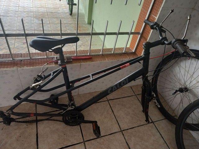 Bicicleta caloi quadro de aluminio aro 26