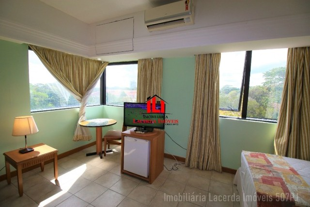 Flat Mobiliado com Vista p Rio no Tropical Hotel 6 Andar - Foto 11