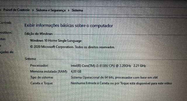 Notebook Dell Inspiron 15 3000 Intel Core I3 4GB e SSP 256 GB