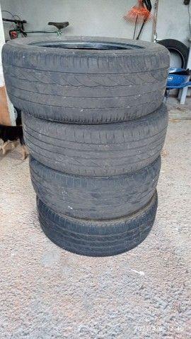 Vendo 4 pneus usados 205/55/r16