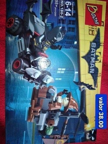 Batman bloco de montar similar ao lego  - Foto 4
