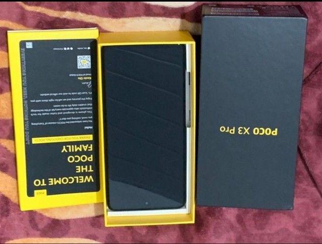 Vendo celular poco X3 PRO 8 RAM 256 GB de memória interna - Foto 4