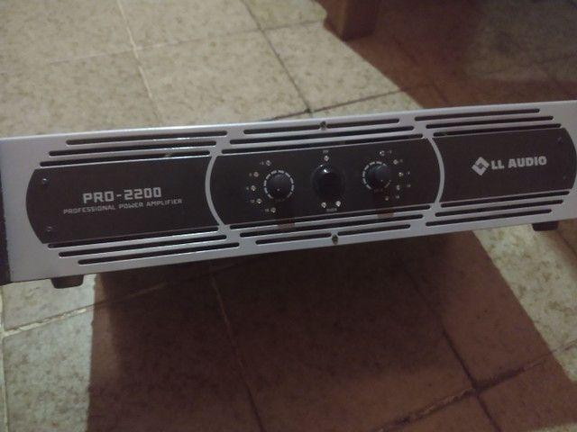 Amplificador de Potência / Linha PRO / PRO 2200