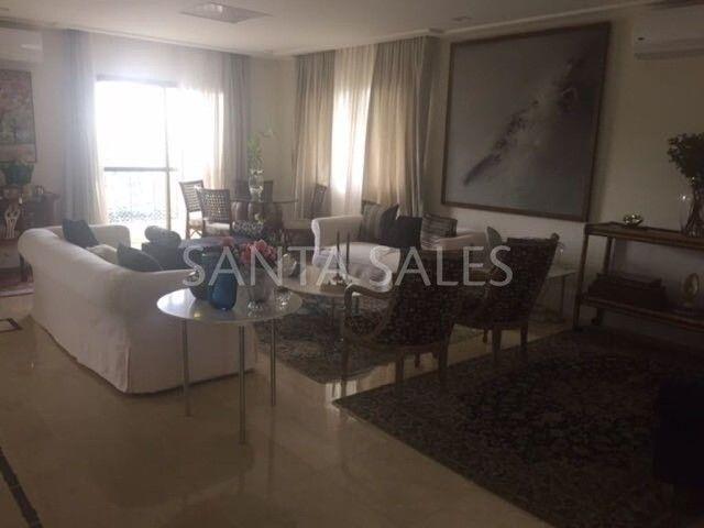 Apartamento para alugar com 4 dormitórios em Campo belo, São paulo cod:SS36181