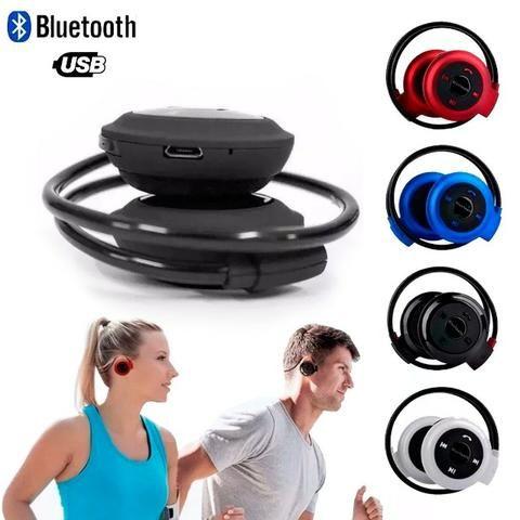 Fone De Ouvido Esporte Bluetooth Sem Fio Estereo Mini 503
