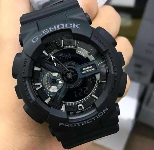 188dbfdab1a Relógio G-Shock GA-110-1BDR Original - Bijouterias