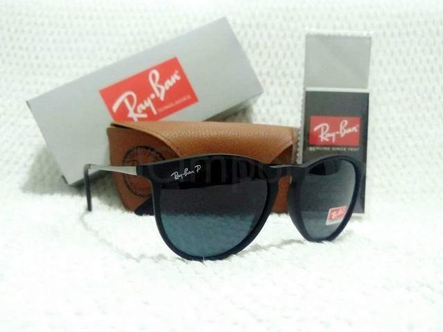 f349150ae Óculos de Sol Ray Ban Erika Preto Polarizado RB4171 Unissex ...