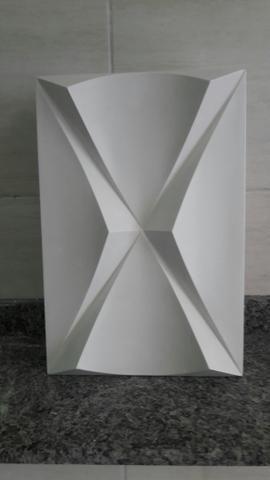 ec51f0338b Placas de gesso em 3D para você revestir as paredes da sua casa