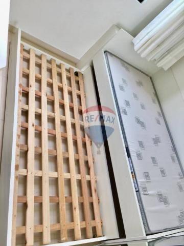Apartamento com 2 dormitórios à venda, 52 m² por r$ 239.990,00 - ponta negra - natal/rn - Foto 14
