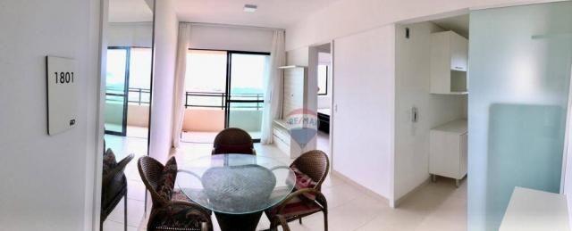 Apartamento com 2 dormitórios à venda, 52 m² por r$ 239.990,00 - ponta negra - natal/rn - Foto 3