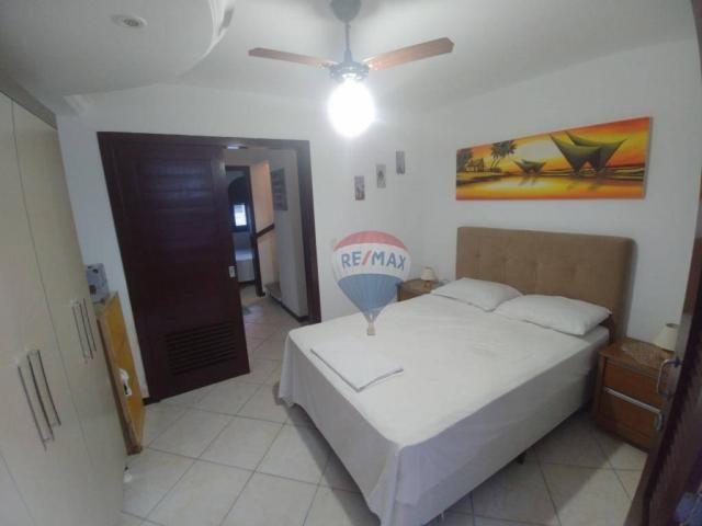 Flat estilo casa duplex com 2 dormitórios à venda, 57 m² por r$ 185.000 - ponta negra - na - Foto 10