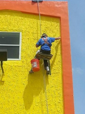 Pintores de fachada serviços em altura rj rio de janeiro - Foto 5