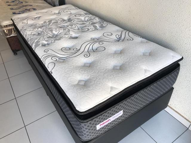 Cama Box Solteiro Palemax Titanium em Molas - Top de Linha! - Foto 3
