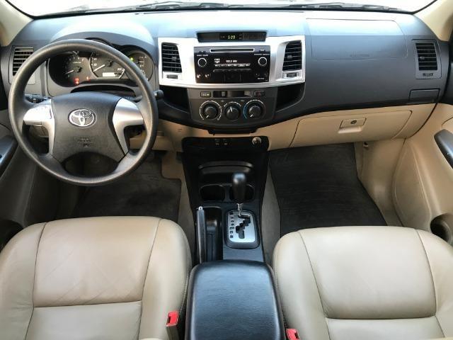 Toyota Hillux SW4 2.7 SR Flex Aut. Apenas 70.000 km 2014/2014 - Foto 5
