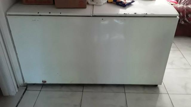 Freezer Horizontal 2 tampas H500 Electrolux 477litros