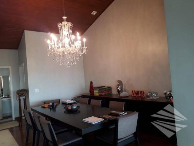 Casa com 4 dormitórios para alugar, 550 m² por r$ 7.000/mês - chácaras cataguá - taubaté/s - Foto 17