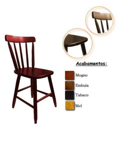 Mesas e cadeiras de madeira country - Foto 3