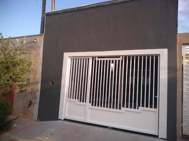 Casa Nova de meio lote Minha Casa Minha Vida (Todas as portas e janelas de blindes)