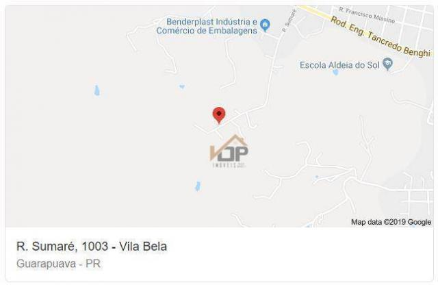 Terreno à venda, 8.100 m² por r$ 315.000 - vila bela - guarapuava/pr - Foto 4