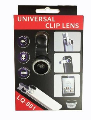 Kit Lentes Celular Lentes 3 Em 1 Universal - Foto 2