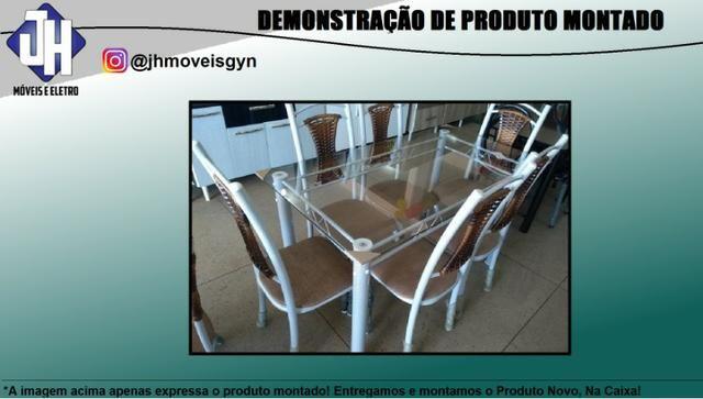 Mesa Lia 6 cadeiras - Foto 4