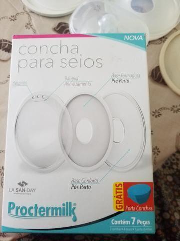 VENDO OU TROCO (concha e bico de silicone ) - Foto 3