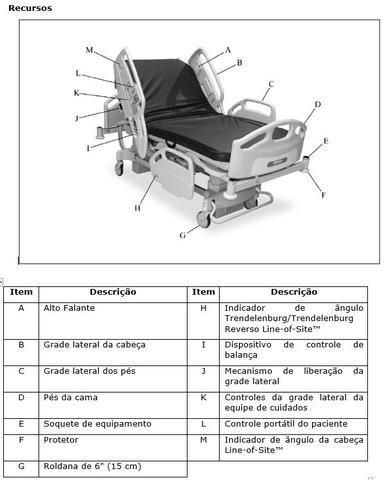Cama hospitalar Hll Rom 1000 - Foto 4