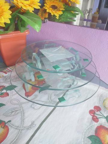 Vendo kit com 3 tábua para bolo - Foto 3