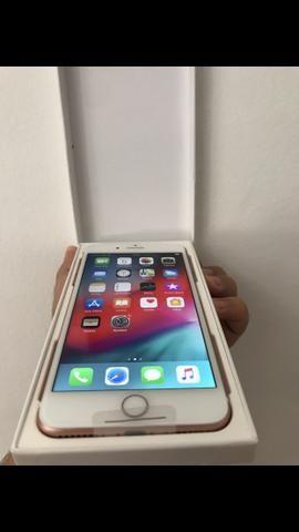 IPhone 7 Plus Aparelho de Vitrine 128gb Rosé e Dourado com Garantia e Procedência - Foto 3