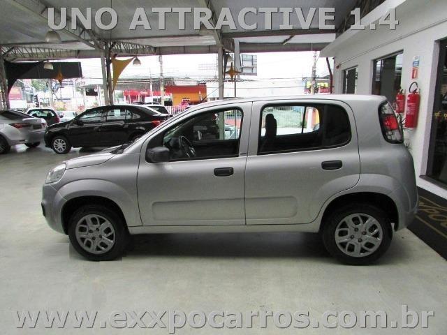 Fiat Uno Attractive 1.0 Flex - Ano 2016 - Bem Conservado - Foto 6