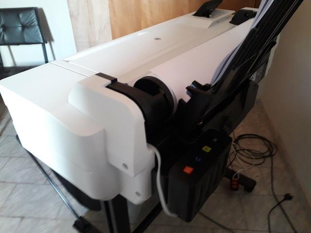 Plotter HP designjet T530 nova sem uso com Bulk r$:5.900 - Foto 3