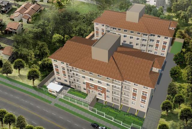 Apartamento à venda com 2 dormitórios em Sítio cercado, Curitiba cod:69187 - Foto 2